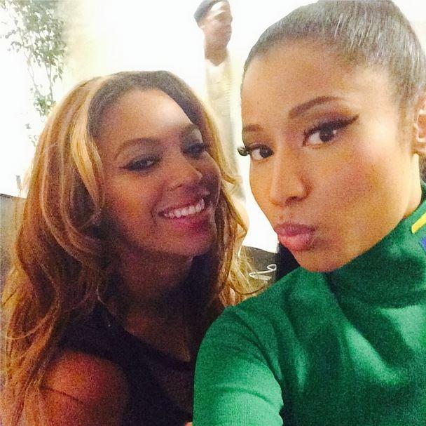 Beyoncé e Nicki Minaj (Foto: Instagram / Reprodução)
