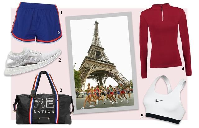 Maratona de Paris (Foto: Getty Images e Divulgação)