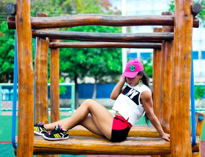 Geyse Silva - candidata ao Musa Fitness 2016 (Foto: Imagem/Tércio Neto)