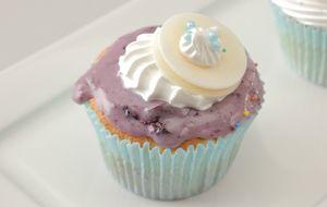 Cupcake de baunilha com cumaru