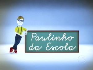 Selo Paulinho da Escola / TV Rio Sul (Foto: Reprodução/TV Rio Sul)