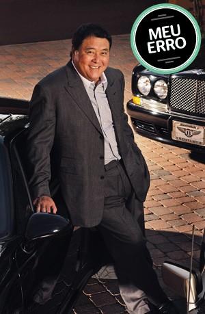 ROBERT KIYOSAKI O investidor americano Robert Kiyosaki é coautor de Pai rico, pai pobre. Seu livro mais recente é O toque de midas (Editora Campus/Elsevier), escrito com o empresário Donald Trump (Foto: Mark Peterman/ZUMA Press)