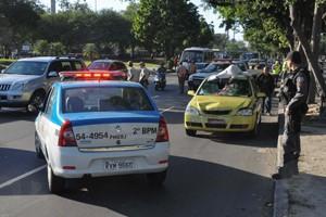 Ciclista morre após ser atropelado (Foto: Luiz Roberto Lima/Futura Press)