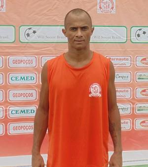 Rinaldo, atacante do Caiçara (Foto: Ricardo Andrade/Caiçara)