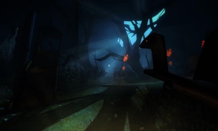 Parquinho mal assombrado é um dos cenários do jogo (Foto: Divulgação)
