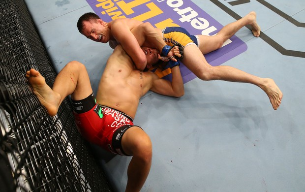 Joe Ellenberger x James Moontasri UFC San Antonio MMA (Foto: Getty Images)