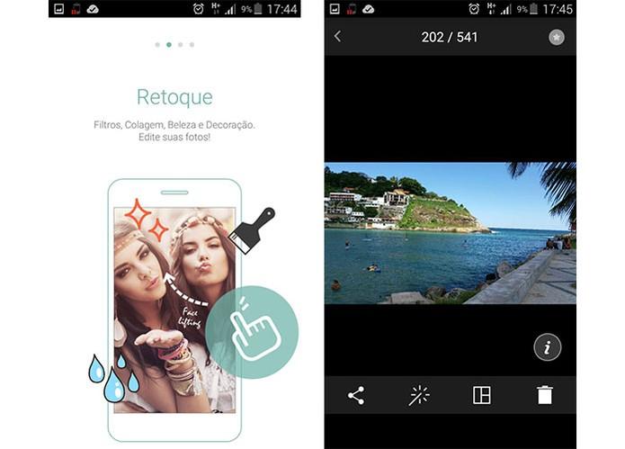 Cymera é o app ideal para as selfies (Foto: Reprodução/Barbara Mannara)