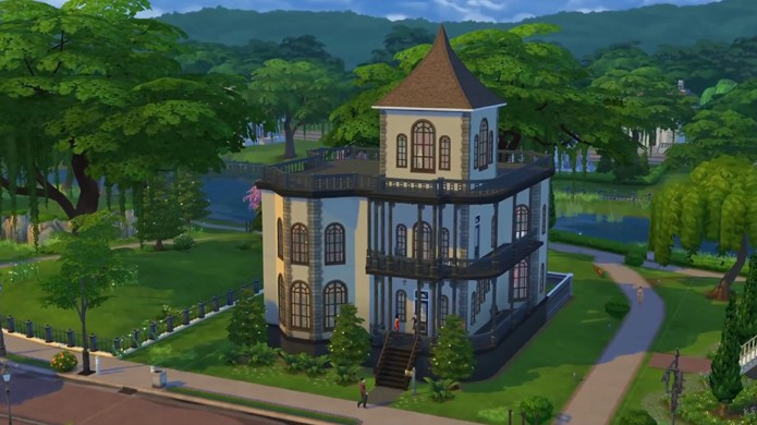 The sims 4 v deo explica o novo sistema de constru o de casas not cias techtudo Create a house game