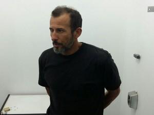 Ex-policial não quis dar detalhes de comparsas do crime (Foto: Divulgação/Polícia Civil)