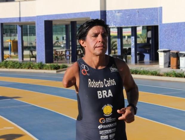 Roberto Carlos Silva, Para-triatleta do Praia Clube (Foto: Divulgação/Praia Clube)