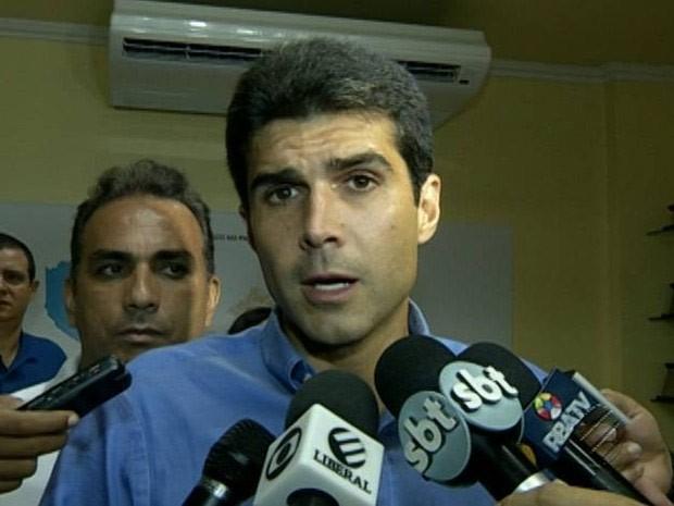 Helder Barbalho é novo ministro de Portos (Foto: Reprodução/TV Liberal)