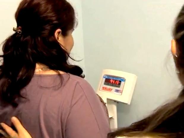 Redução de estômago é alternativa para curar doenças (Foto: Reprodução/RBS TV)