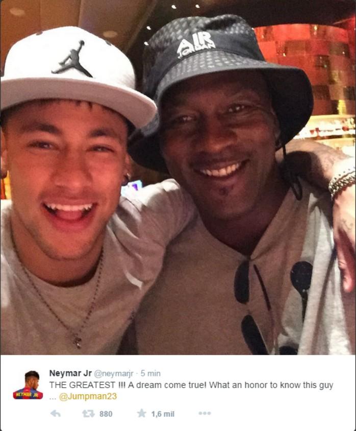 Neymar Michael Jordan
