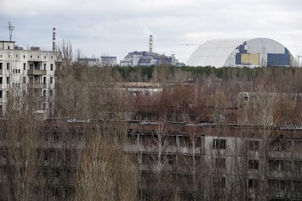 Cidade de Pripyat, na Ucrânia, foi abandonada após desastre nuclear  (Foto: Gleb Garanich/Reuters)