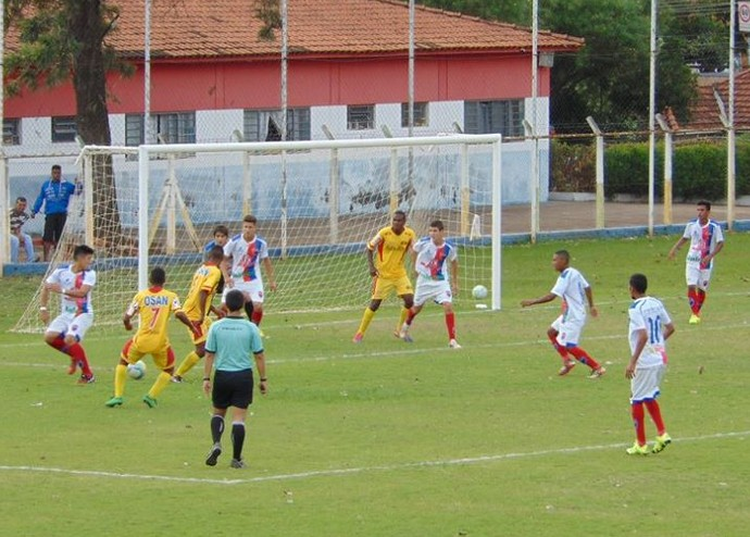 Sub-17 Grêmio Prudente x Jabaquara (Foto: Marcos Chicalé / Semepp)