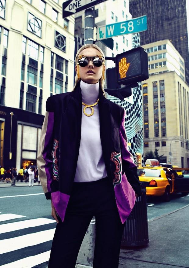 Carol Trentini em Nova York (Foto: Fabio Bartelt/Arquivo Vogue)