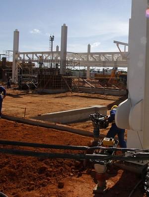 Obras no Aeroporto Marechal Rondon em Várzea Grande (Foto: Edson Rodrigues/Secopa)
