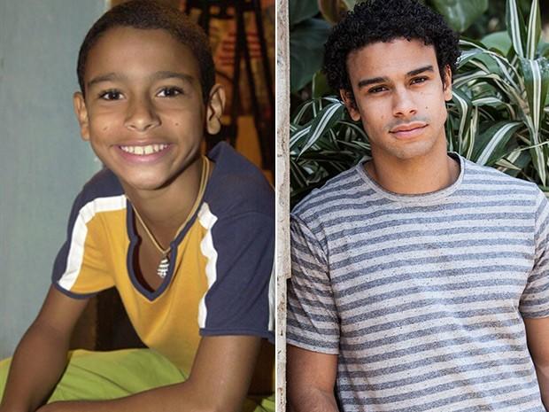 O antes e depois de Sérgio Malheiros  (Foto: Gianne Carvalho e Rapha Dias / TV Globo)