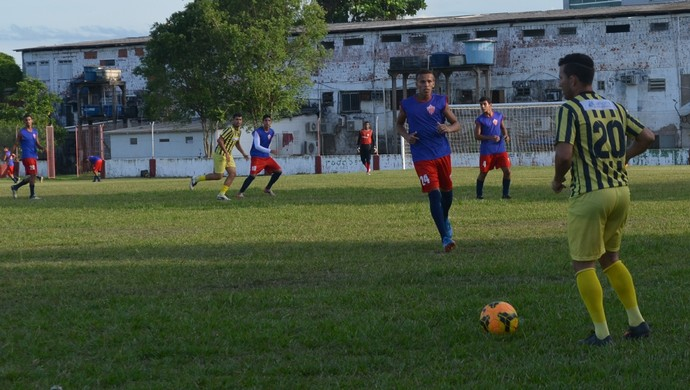 Rio Branco sub-20 teve três desfalques no amistoso desta quinta-feira (11) (Foto: Quésia Melo)