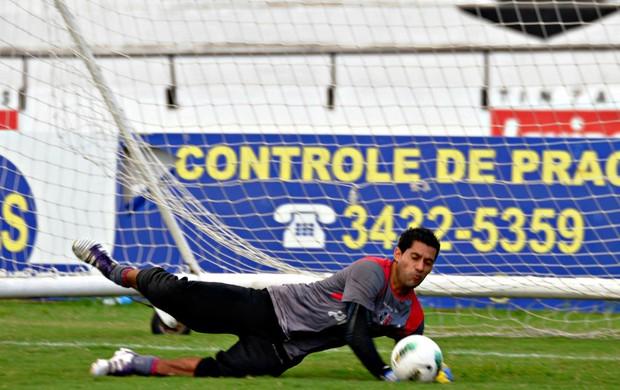 Fred - Santa Cruz (Foto: Aldo Carneiro/Pernambuco Press)