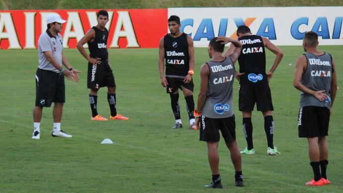 ABC - Sérgio China - jogadores - Frasqueirão (Foto: Jocaff Souza/GloboEsporte.com)