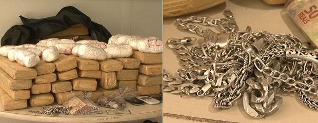 Operação prende 19 suspeitos de elo com o tráfico de drogas no Paraná (Foto: Reprodução RPC TV Noroeste)