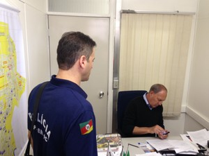 Prisão vereador Canoas  (Foto: Giovani Grizotti/RBS TV)