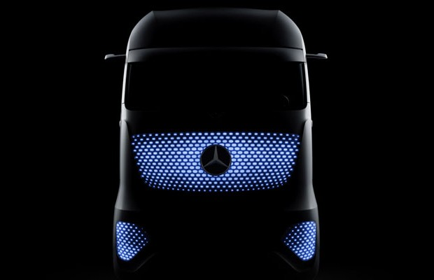 Mercedes-Benz Future Truck 2025 (Foto: Divulgação)