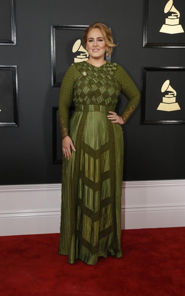Adele no Grammy (Foto: Reuters agência)