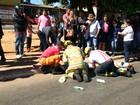 Criança é atropelada por van escolar em faixa de pedestre no DF