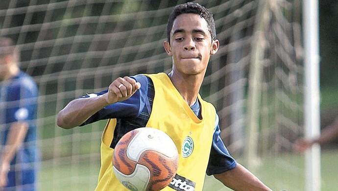 Felipe Amorim, meia-atacante do Goiás (Foto: Zuhair Mohamad / O Popular)