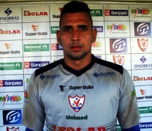 Bruno Colaço, goleiro do Águia (Foto: Site oficial do Águia de Marabá)