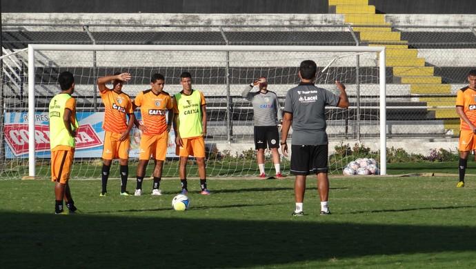 Treino do ASA (Foto: Leonardo Freire/GloboEsporte.com)