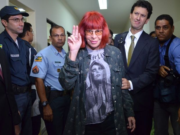 Rita Lee tenta fazer acordo com os policiais de Sergipe, mas eles recusam receber R$ 40 mil, cada um (Foto: Marina Fontenele/G1 SE)