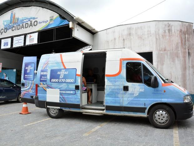 Unidade móvel do Sebrae chegará a Bertioga nesta segunda-feira (Foto: Prefeitura de Bertioga)