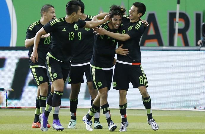 México 2 x 0 Senegal Amistoso - AP (Foto: AP)