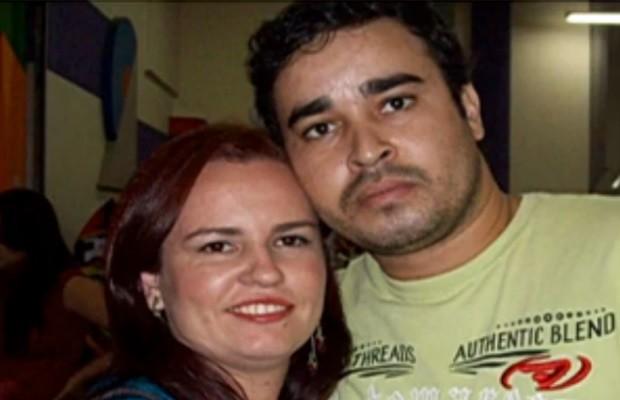 Antônia Dulcimar Batista, de 27 anos, e Vladimir Lopes Oliveira, de 29, morrem em acidente de Goiânia, Goiás (Foto: Reprodução/ TV Anhanguera)
