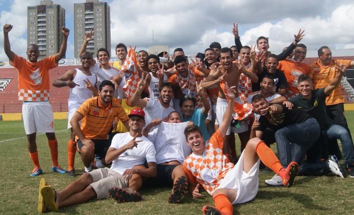 Atibaia acesso ao Campeonato Paulista da Série A2 (Foto: Fabio Giannelli/Soccer Digital)