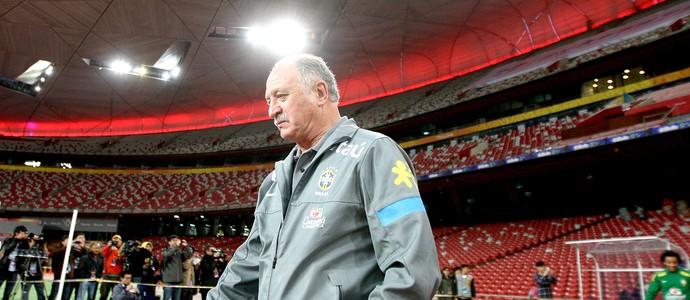 Felipão treino seleção na China (Foto: Mowa Press)