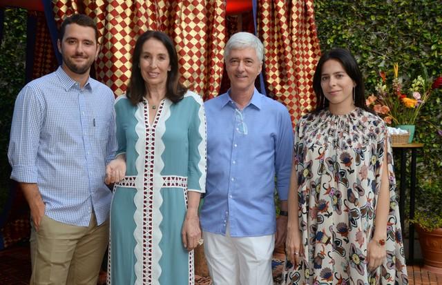 Gabriel Sauer, Marina, Daniel Sauer e Stephanie Wenk (Foto: Juliana Rezende)