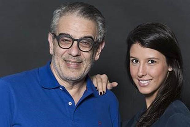 A designer Maria di Pace e o jornalista e curador, Sério Zobaran, idealizadores da mostra (Foto: Divulgação)