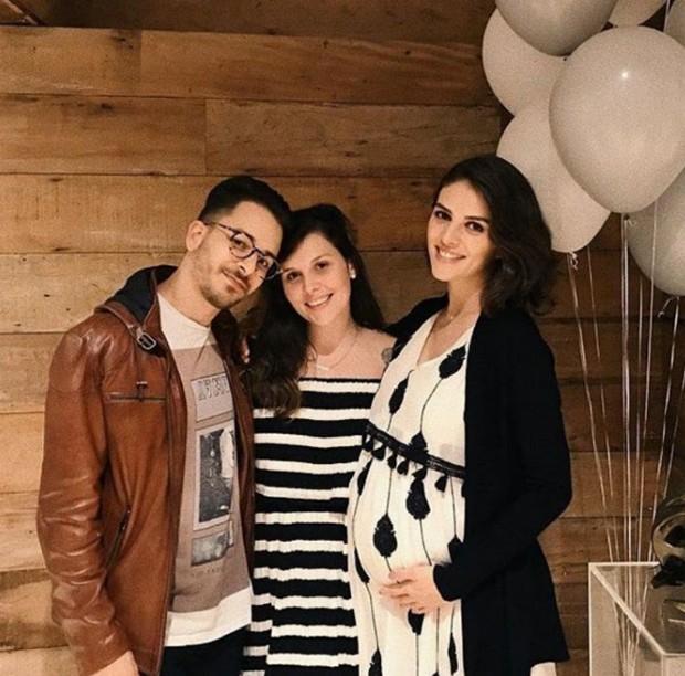 Junior Lima, Hariana Meinke e Monica Benini (Foto: Reprodução/Instagram)
