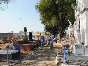 Proprietários são responsáveis por manutenção dos túmulos, afirma serviço de cemitérios de Campinas. (Foto: Divulgação / Prefeitura de Campinas)
