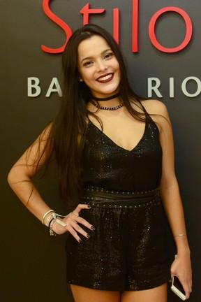 Ex-BBB Emilly Araújo em festa na Zona Oeste do Rio (Foto: Roberto Teixeira/ EGO)