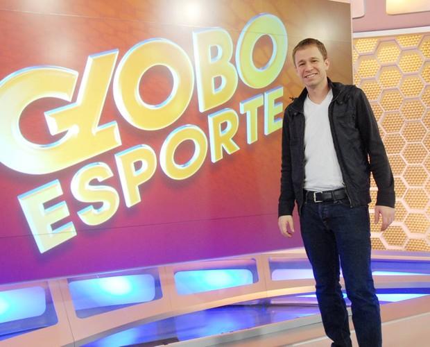 Tiago Leifert é editor-chefe do Globo Esporte São Paulo (Foto: Zé Paulo Cardeal/TV Globo)