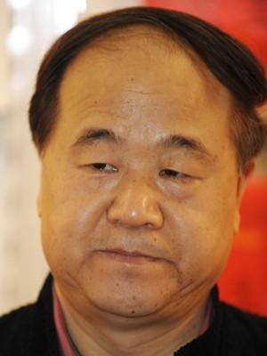 Autor chinês Mo Yan, vencedor do Nobel de Literatura 2012 (Foto: John MacDougall/AFP)