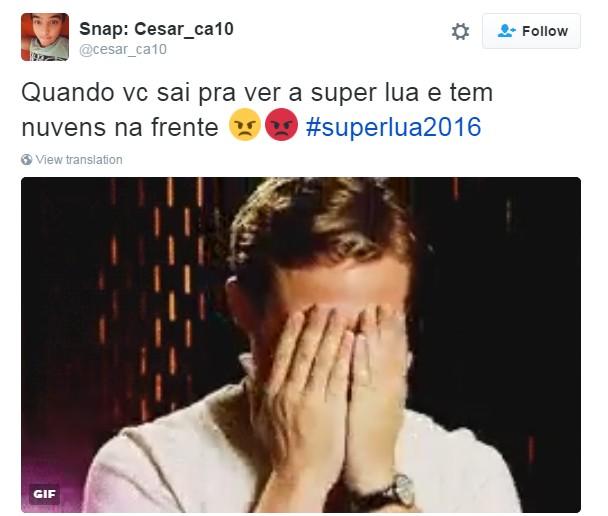 meme superlua 1 (Foto: Reprodução/Twitter)
