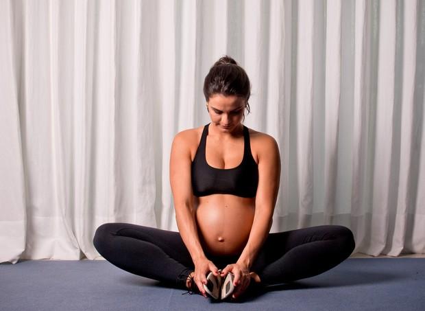 Kyra Gracie está na 40ª semana da segunda gravidez (Foto: Arquivo pessoal/ Kyra Gracie)