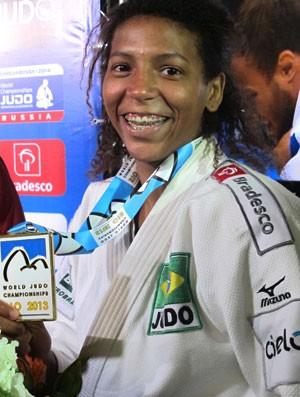 Rafaela Judo Medalha (Foto: Thierry Gozzer)
