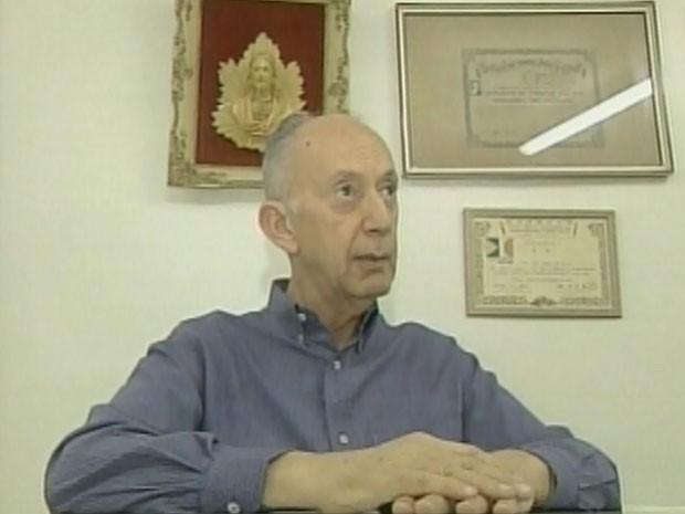 Uebe Rezeck, candidato a Prefeitura de Barretos  (Foto: Reprodução/ EPTV)